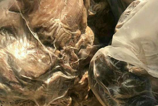 蒙古熟山羊肉