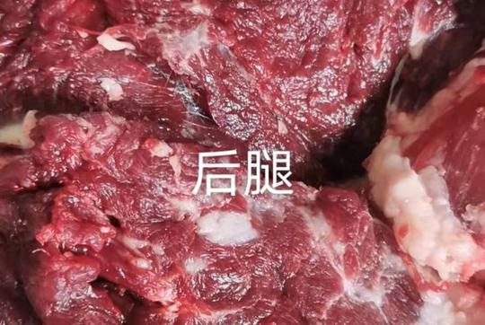 蒙古驴后腿肉